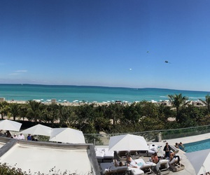 beautiful, Miami, and view image