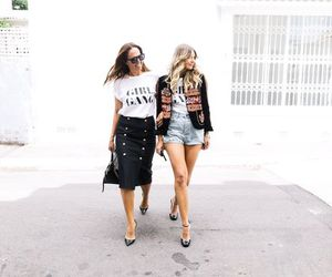 accessories, black and white, and bloggers image