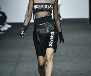 catwalk, fashion, and fashion week image