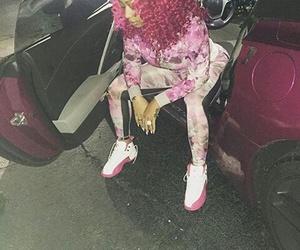 fashion, lit, and pink image