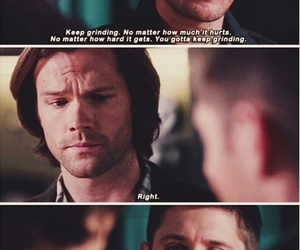 Darkness, dean winchester, and lucifer image