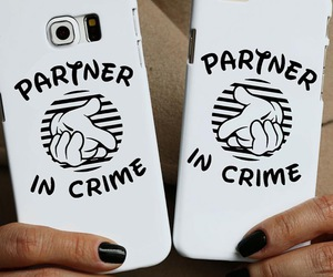 iphone, partners in crime, and telefoon hoesje image