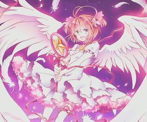 anime, sakura, and sakura kinomoto image