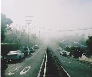 black, foggy, and grunge image