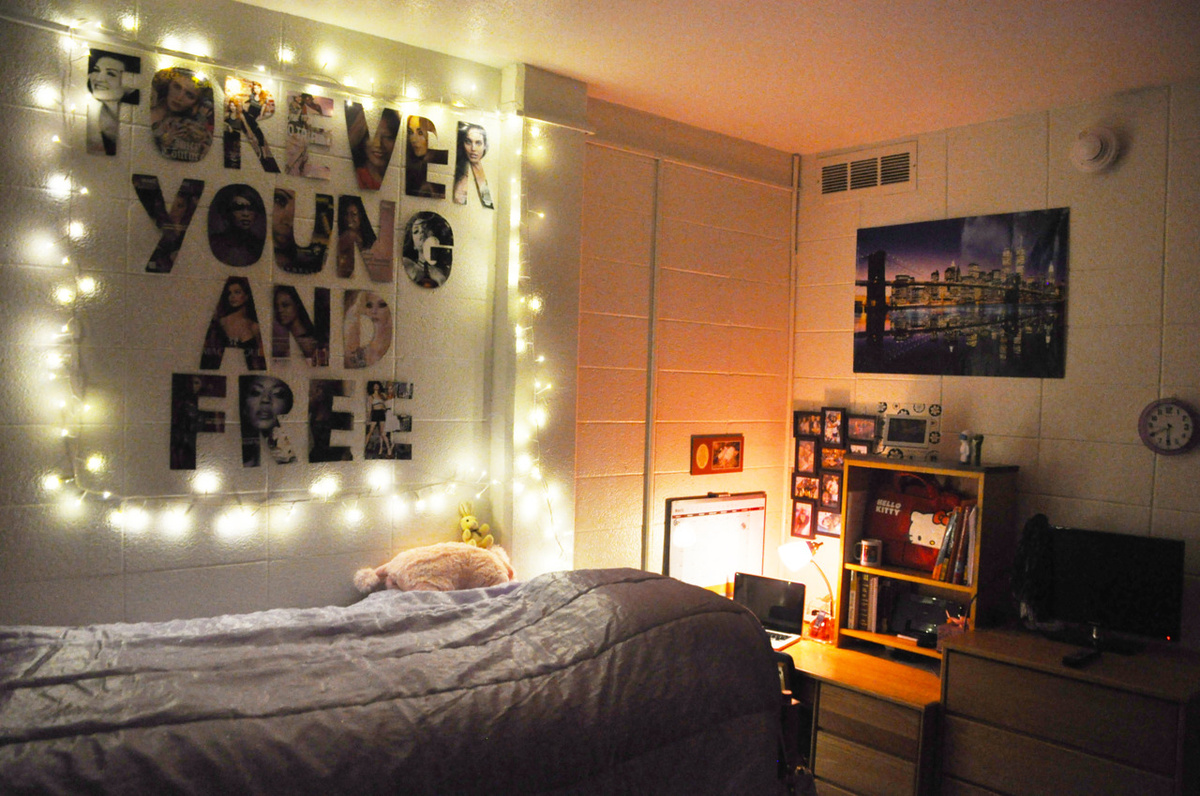 Bedroom Cute Decoration Free Light Inspiring Picture On