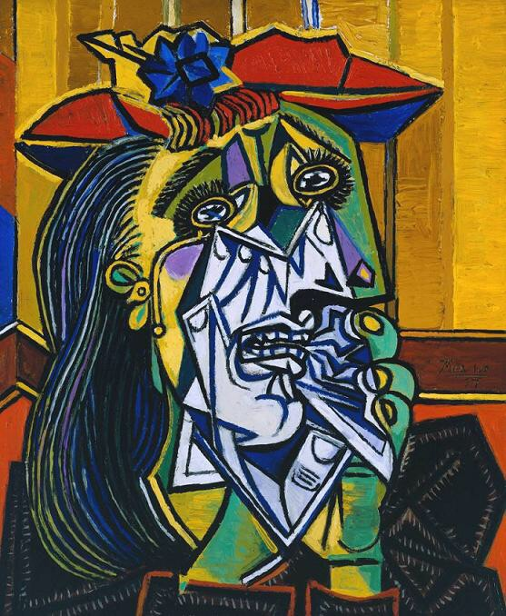 art, picasso, and painting image