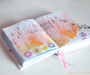 colorful, art journal, and creativity image