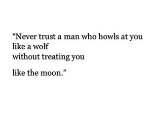 moon, quote, and trust image