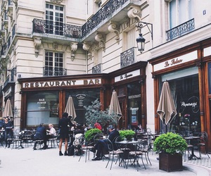 coffee, travel, and france image