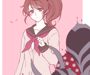 anime, girl, and brothers conflict image