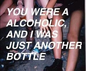 aesthetic, grunge, and alcoholic image
