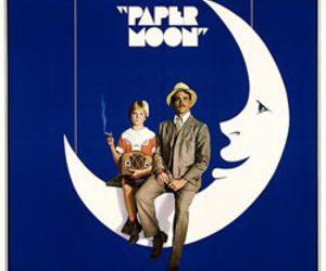 moon, ryan o'neal, and movie image