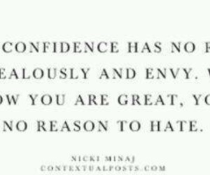 4, confidence, and envy image