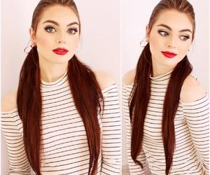 audrey hepburn, hairstyles, and makeup image