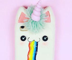 unicorn, case, and phone image