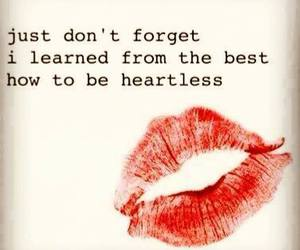 heartless and quote image