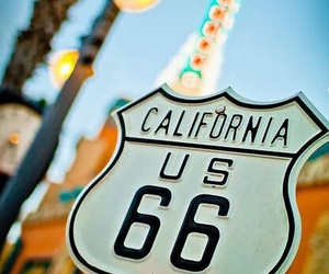 california, travel, and summer image