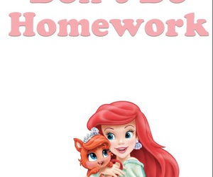 ariel, baby, and background image