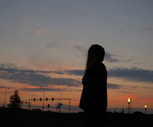 alone, girls, and photography image