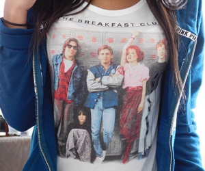 fashion, The Breakfast Club, and tumblr girl image