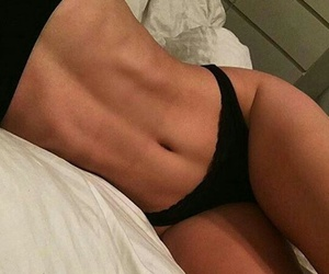 abs, black, and goals image