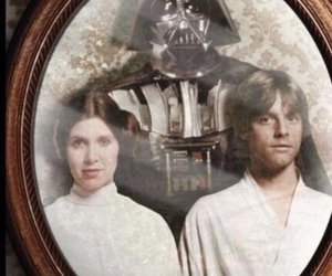 Anakin Skywalker, children, and Princess Leia image