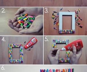diy, creative, and pencil image