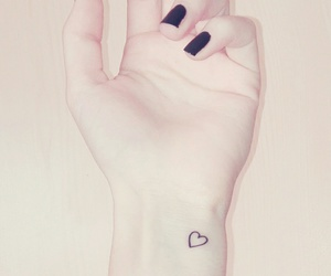 forever, hand, and heart image