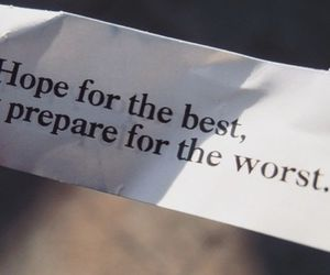 hope, Best, and quote image