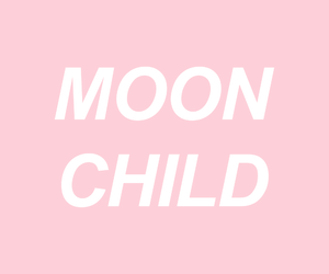 pink, quotes, and moon image