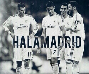real madrid, hala madrid, and cristiano ronaldo image
