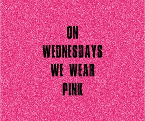 mean girls, pink, and quote image