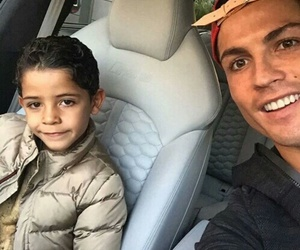 cristiano ronaldo, son, and cr7 image