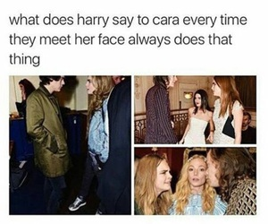 cara delevigne, Harry Styles, and one direction image