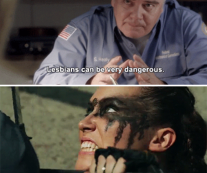 funny, lexa, and the 100 image