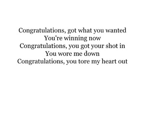 congratulations, heart, and heartbreak image