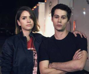 shelley hennig, dylan o'brien, and teen wolf image