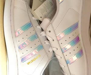 sneakers, adidas, and superstar image