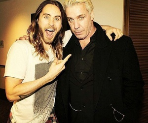 rammstein, jared leto, and till lindemann image