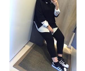 fashion, hijab, and hijabfashion image