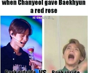 exo, baekhyun, and chanbaek image