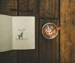 coffee, book, and hipster image