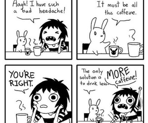 sarah andersen, funny, and caffeine image