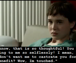 ellen page, hard candy, and castration image