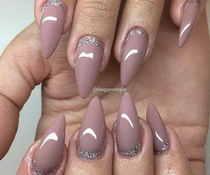 gel, nail, and nails image