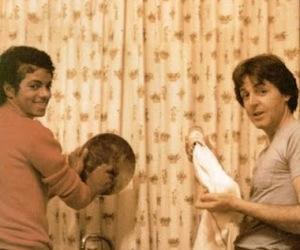 lovely, Paul McCartney, and michael jackson image