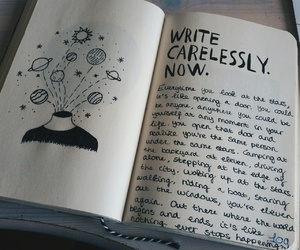 creative, now, and wreck this journal image