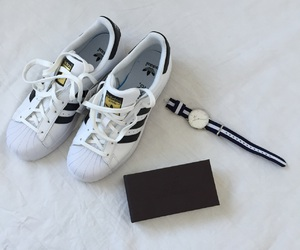 adidas, dw, and superstar image