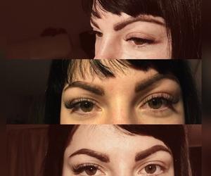 beuty, eyelashes, and work image