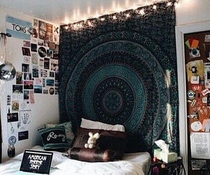 cozy, room, and tapestry image